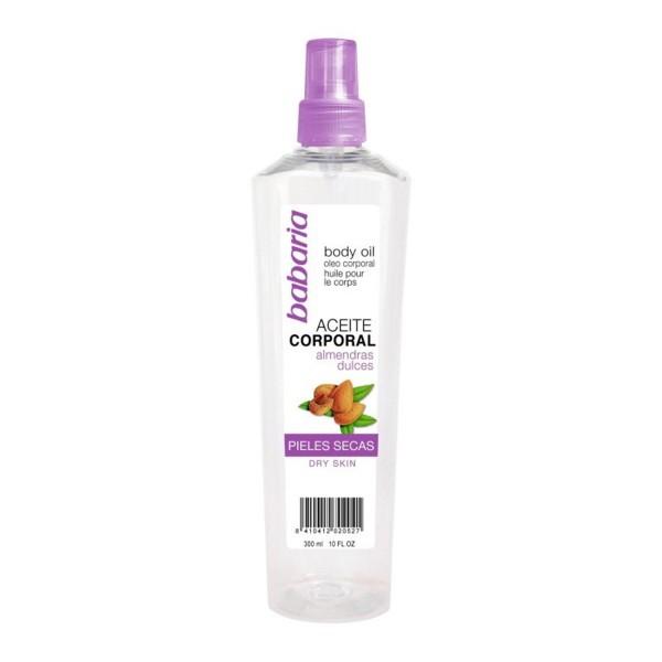 Babaria almendras aceite corporal aceite corporal hidratante 300ml
