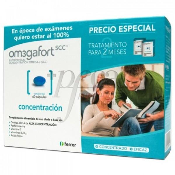 OMEGAFORT CONCENTRACION 2X 30 CAPS PROMO