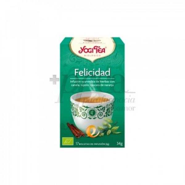 YOGI TEA FELICIDAD 17 BOLSITAS