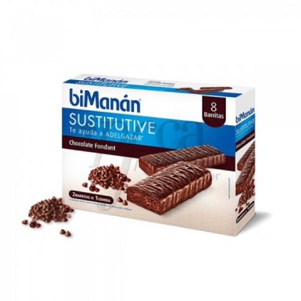 BIMANAN BARRITAS DE CHOCOLATE FONDANT 8 UDS