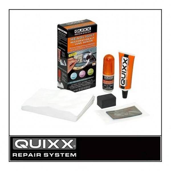 "Restaurador faros ""quixx"" + sellante para la lente. kit completo"