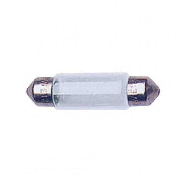 Lámpara plafonier 12v t11x41 10w sv8.5d. caja 10 uds.