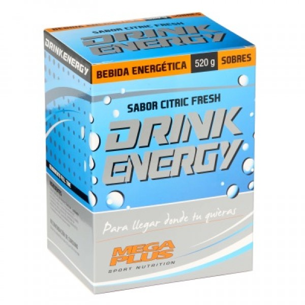 Drink energy citric fresh 10 sobres de 52g