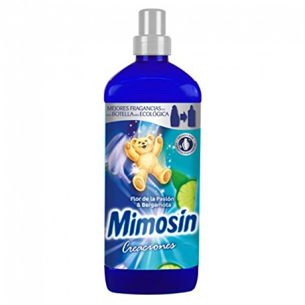Mimosin Suavizante  concentrado creaciones flor pasion & bergamota 1,334l.
