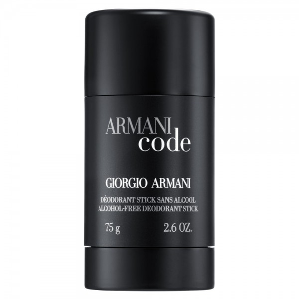 Giorgio armani code desodorante stick pour homme 75ml