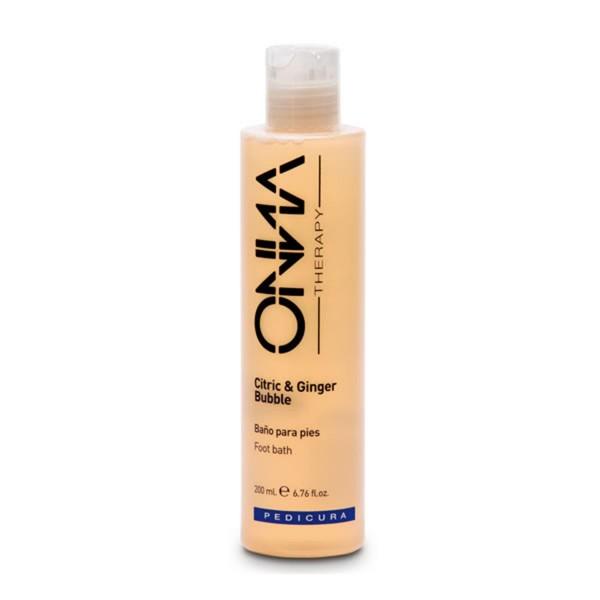 Onna therapy citric&ginger baño de burbujas para pies 200ml