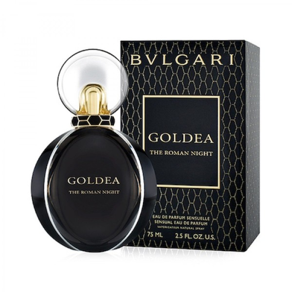 Bvlgari goldea the roman night eau de parfum 75ml vaporizador