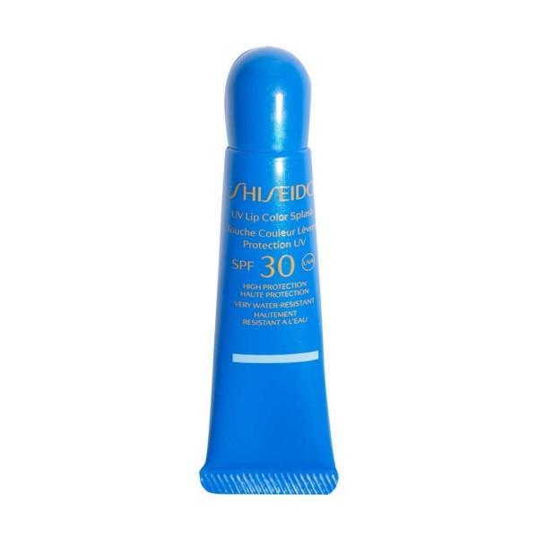 Shiseido labios protector uv color splash spf30 tahiti blue waterproof