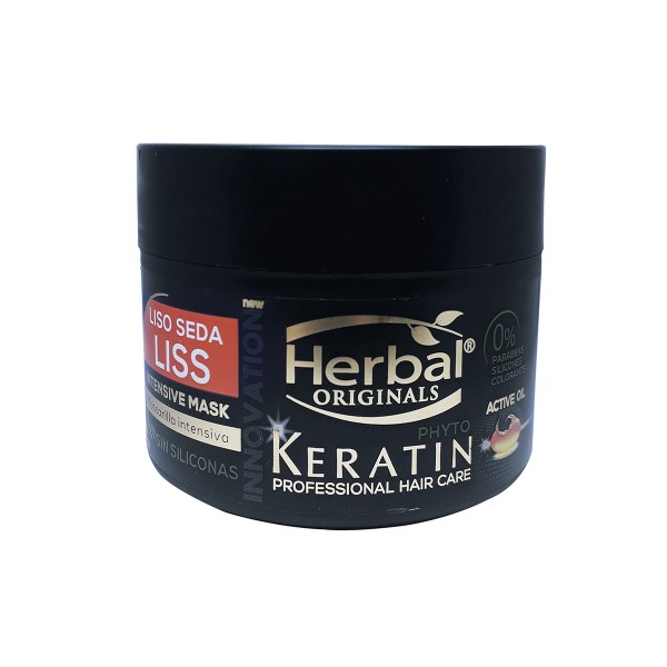 Herbal originals phyto keratin professional hair care liss intensive mascarilla 300ml