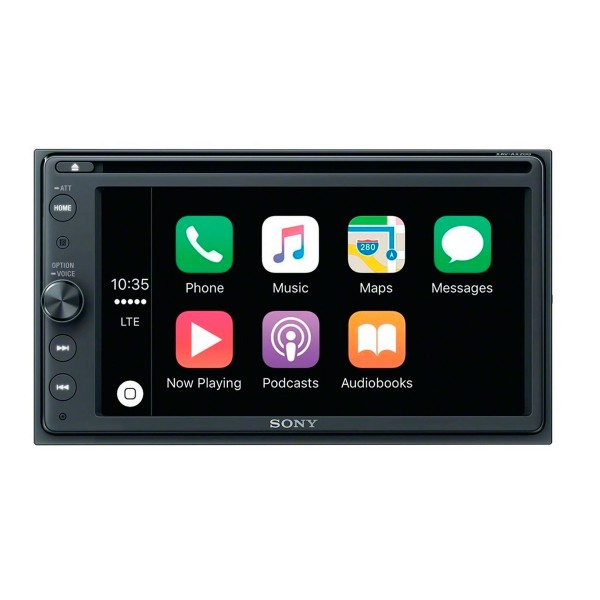 Sony xav-ax200 receptor de dvd con pantalla de 6.4'' para el coche con bluetooth apple carplay y android auto