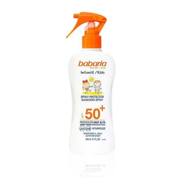 Babaria sun kids spray protector spf50+ 200ml