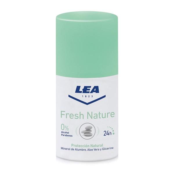 Lea fresh nature desodorante roll-on mineral alumbre 50ml