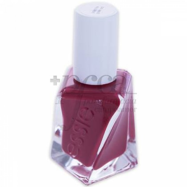 ESSIE GEL COUTURE 509 PAINT THE GOWN RED