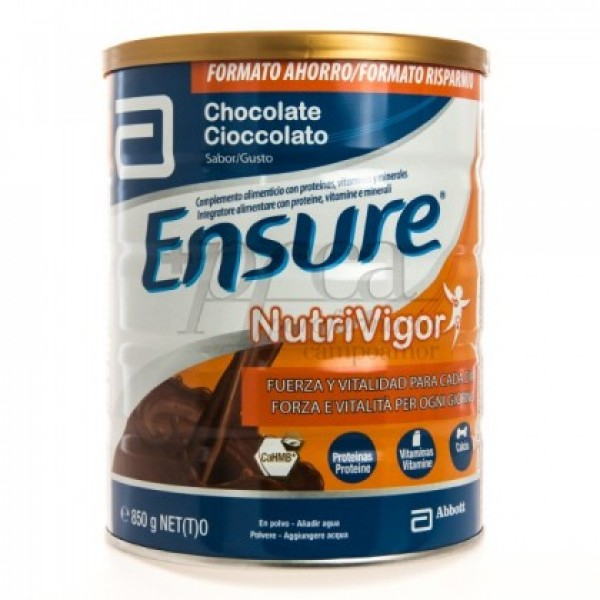 ENSURE NUTRIVIGOR CHOCOLATE 850G