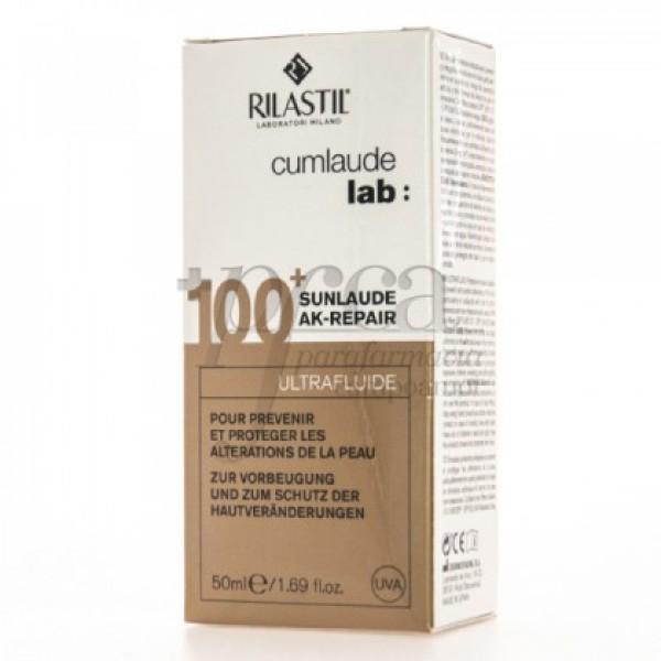 SUNLAUDE AK-REPAIR 100+ ULTRAFLUIDO 50ML