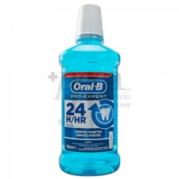 ORAL B  PRO EXPERT 24H ENJUAGUE D FUERTES 500ML