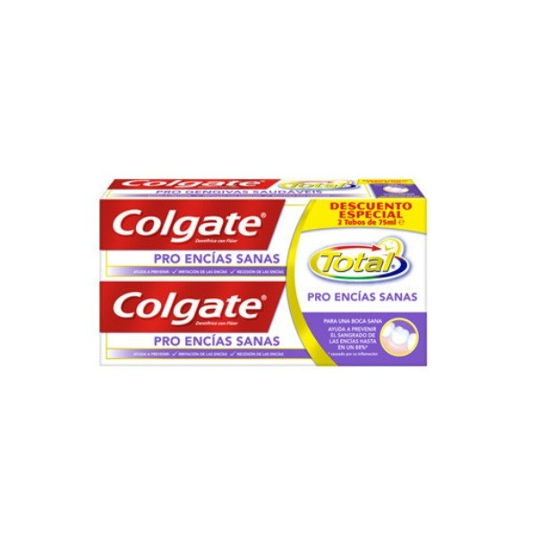 Colgate dentífrico PRO ENCIAS SANAS 2 X 75 ML