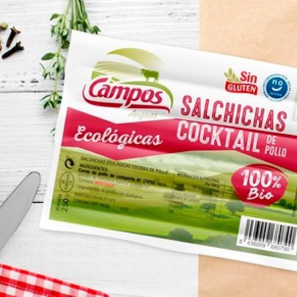 Salchichas Cocktail de Pollo de Producción Ecológica