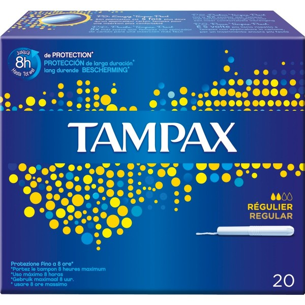 Tampax clasico regular 20 unidades