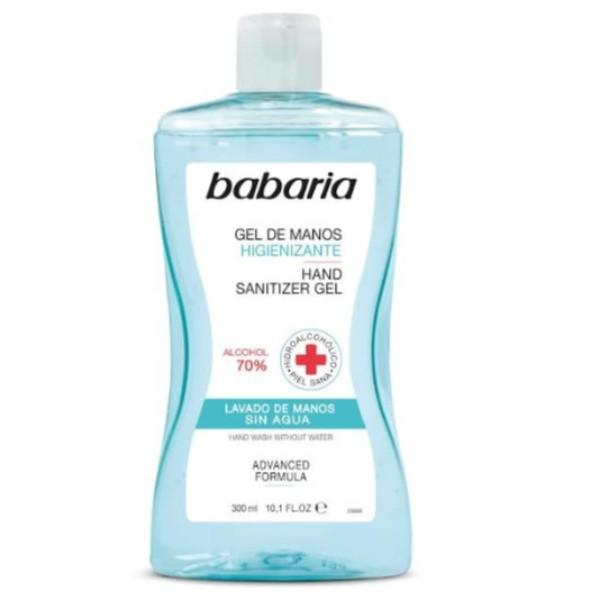 Babaria higienizante 70% alcohol gel de manos 300ml