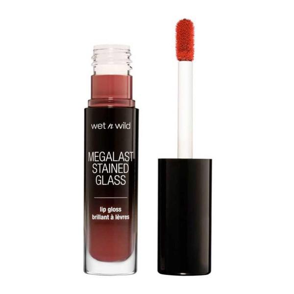 Wetn wild megalast stained glass brillo de labios handle with care 1un
