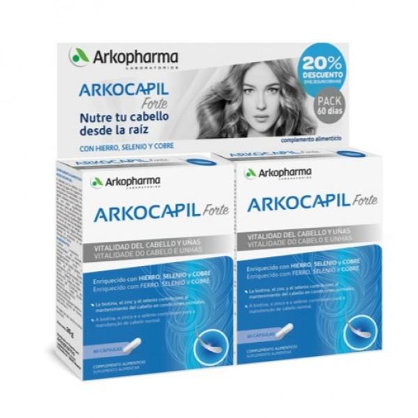 ARKOCAPIL FORTE 2X 60 CAPS PROMO