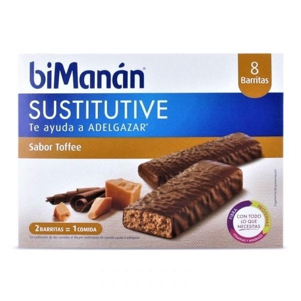 BIMANAN BARRITAS DE TOFFEE 8 UDS